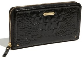 Women's Brahmin 'Suri' Zip Around Wallet - Black