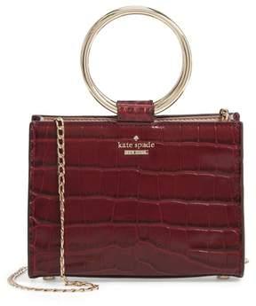Kate Spade White Rock Road - Mini Luxe Sam Leather Satchel