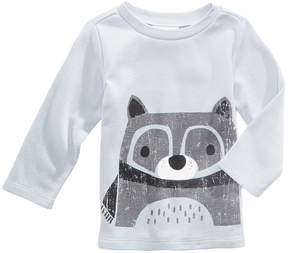 First Impressions Raccoon-Print Thermal T-Shirt, Baby Boys (0-24 months), Created for Macy's
