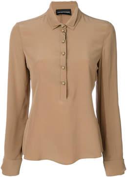 Emporio Armani double collar shirt