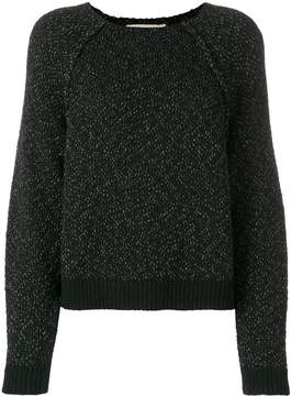 Vanessa Bruno glitter-detail knitted sweater