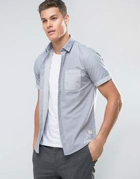Lindbergh Contrast Pocket Short Sleeve Shirt