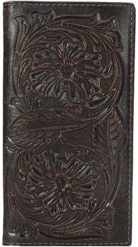 Ariat Floral Embossed Rodeo Wallet Wallet Handbags
