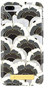Trina Turk Translucent Apple Phone Case - Black/White/Gold - iPhone 6 Plus/6S Plus/7 Plus/8 Plus