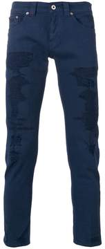 Dondup distressed skinny trousers