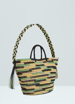 MANGO OUTLET Straw bag