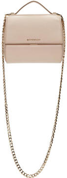 Givenchy Pink Mini Chain Pandora Box Bag