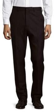 Dries Van Noten Striped Wool Trousers