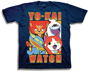 Freeze Navy 'Yo-Kai Watch' Tee - Boys