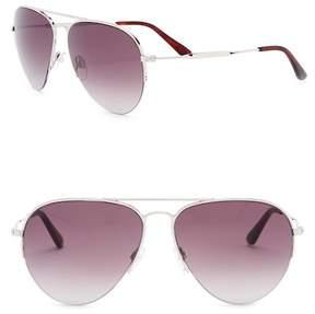 Balenciaga 58mm Aviator Sunglasses