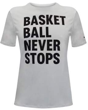 Nike Men's Dri-Fit Basketball Never Stops T-Shirt-White-2XL