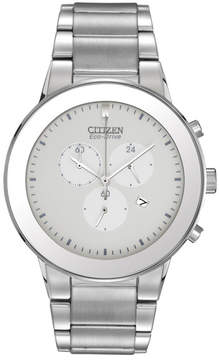 Citizen Men's Axiom White Dial Watch