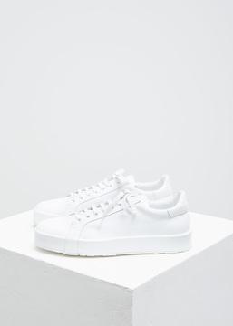 Jil Sander Bianco Low Top Sneaker