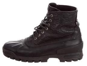 Gucci Guccissima Hiking Boots