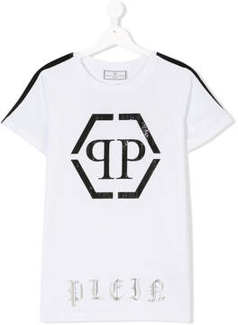 Philipp Plein Junior Teen branded T-shirt