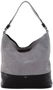 Shinola Relaxed Suede & Leather Hobo