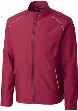 Cutter & Buck Red & White WeatherTec Beacon Full-Zip Jacket - Men