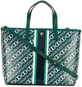 Tory Burch chain print tote bag - GREEN - STYLE