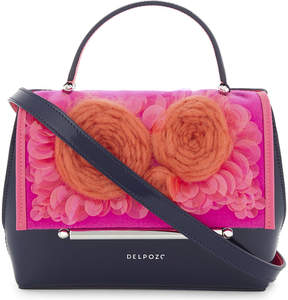 Delpozo Floral cross-body bag