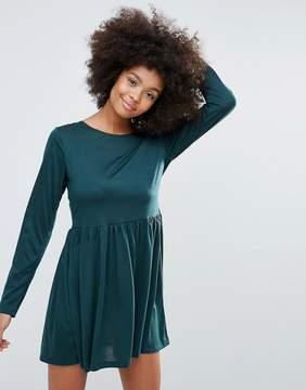 Brave Soul Jersey Skater Dress
