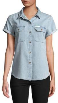 Calvin Klein Jeans Venice Cotton Button-Down Shirt