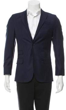 J. Lindeberg 2016 Virgin Wool Pinstripe Blazer w/ Tags