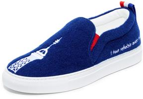 Joshua Sanders Paris Slip On Sneakers