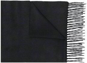 Brioni frayed scarf