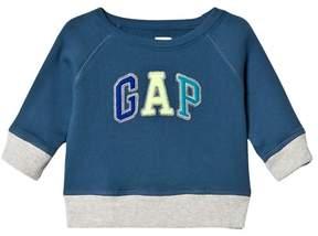 Gap Blue Branded Sweatshirt