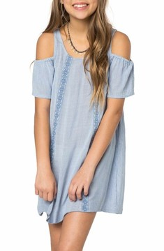 O'Neill Girl's Arie Cold Shoulder Dress