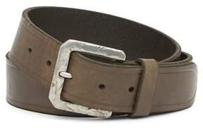 John Varvatos Collection Harness Leather Bridle Belt