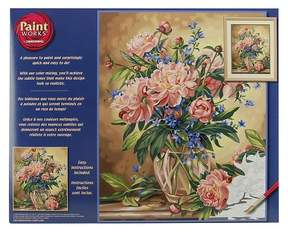 Dimensions Peony Floral PBN 16x20