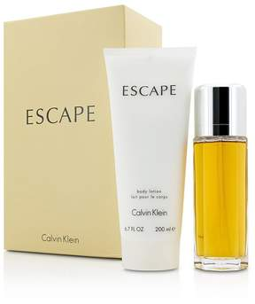 Calvin Klein Escape Coffret: Eau De Parfum Spray 100ml/3.4oz + Body Lotion 200ml/6.7oz