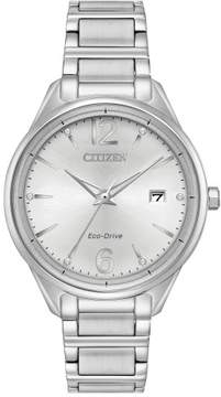 Citizen FE6100-59A L Womens Watch Silver 37mm Stainless Steel