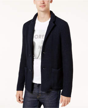 Armani Exchange Men's Knit Sport Coat Cardigan