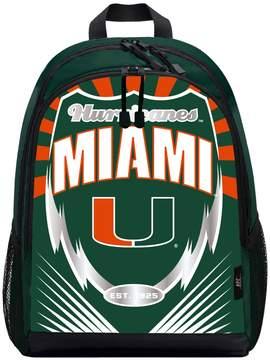 NCAA Miami Hurricanes Lightening Backpack by Northwest