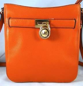 MICHAEL Michael Kors Hamilton Traveler Tangerine Pebbled Leather Crossbody Bag - ONE COLOR - STYLE