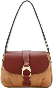 Dooney & Bourke Derby Pebble Large Flap - PUTTY - STYLE