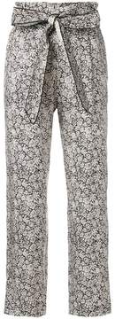 Masscob floral brocade trousers