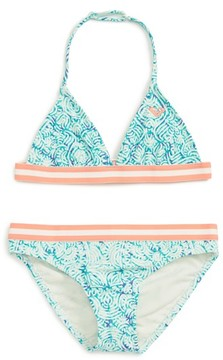 Roxy Girl's Caribbean Days Two Piece Swimsuit