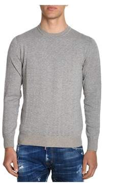 H953 Men's Grey Cotton Sweater.