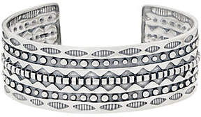 American West Sterling Silver 1 Wide AncientWisdom Cuff
