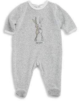 Petit Bateau Baby's Ludovica Graphic Print Footie