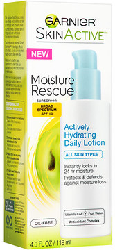 Garnier SkinActive Moisture Rescue Actively Hydrating Daily Lotion SPF 15