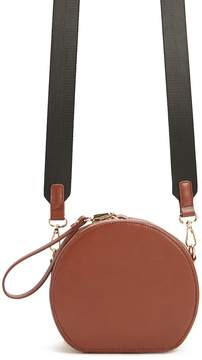 Forever 21 Faux Leather Circle Bag