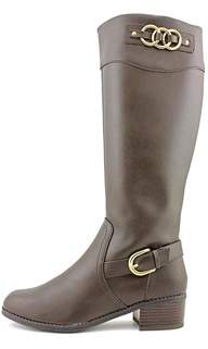 Karen Scott Womens Donnely Almond Toe Mid-calf Fashion Boots.