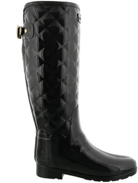 Hunter Gloss Quilt Tall Boots
