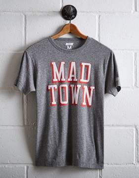 Tailgate Men's Wisconsin Badgers Mad Town T-Shirt