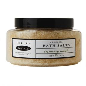 de-luxe BAIN Dead Sea Bath Salts Rosemary Mint