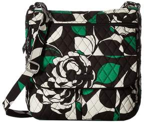 Vera Bradley Double Zip Mailbag Cross Body Handbags